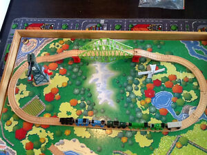Custom Made Train Table with Authentic Thomas Train and Track Stratford Kitchener Area image 7