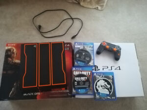 LIMITED EDITION 1TB PS4 BLACK OPS 3 EDITION w/Controller/3Games!