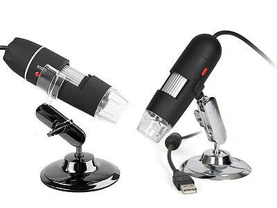 Digital Microscope 2.0mp Usb Magnifier Video Camera W Measure Software 500x
