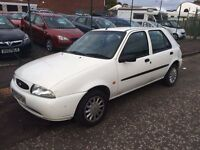 Ford Fiesta lx 1.3 v reg 1 year mot superb driver good condition just spent £400 TO MOT IT