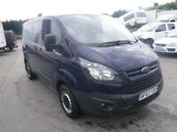 FORD TRANSIT CUSTOM 290 LR P-V SWB Blue Manual Diesel, 2013