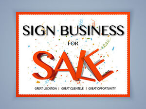 Design, Print & Sign Business for SALE - $37000 (Burnaby/Vancouv