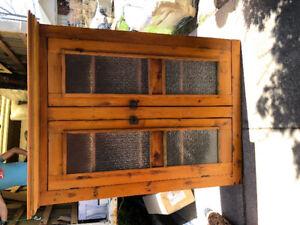 Lovely Antique Pine Pie Cupboard
