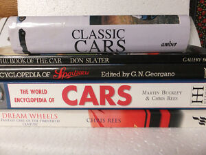 SPORTCARS HARDCOVER BOOKS  EACH OR ALL FOR ONE PRICE