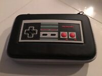 Nintendo 3ds xl travel case (NES style) and USB charging cable