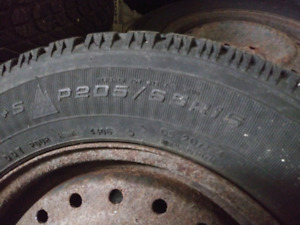 205/65/R15 winter tires