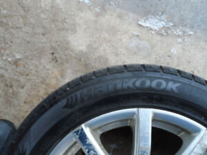 Snow Tires on Aluminium Rims  -