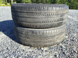 Two P195/65R15 Summer Tires