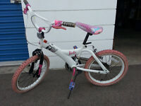 Girls BMX bike, Great condition, only riden a few times