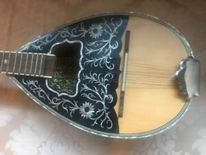Brand New Greek Bouzouki with Case and Strings