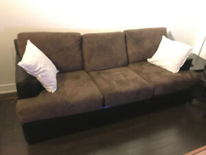 3-seater sofa bed, from structube