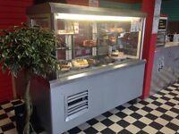 Large Commercial Display Fridge / Serve Over Chilled Counter/Cake Fridge