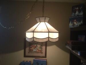 Tiffany Style Swag Lamp - used