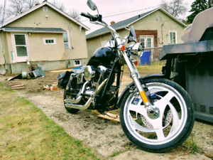 98 Wide Glide chopper