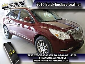 2016 Buick Enclave Leather   - Leather Seats - $269.75 B/W