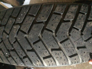 4 Goodyear Ultra Grip Ice with rims Stratford Kitchener Area image 4