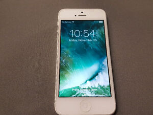 iPhone 5 32Gb Blanc - Bell, Virgin, Solo Mobile, PC Mobile