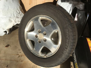 Michelin Tires 16 inch 225/60R16 on Alloy rims
