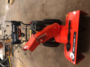 Deluxe 30 Arieans Snowblower 2 stage