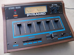 PYRAMID PR-4700 Vintage MIXER 4 Channel LIKE NEW