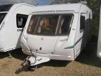 Abbey Vogue GTS 2 berth caravan 2006