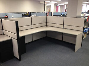 Refurbished Office Cubicles Like New Condition Any Size & Colour Windsor Region Ontario image 8