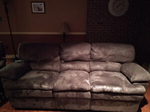 Power recliner couch and chair