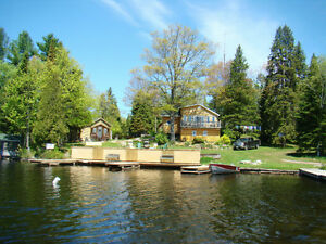Cottage Rentals - Pristine Large Lake, Large Waterfront!