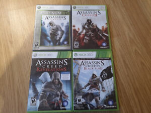 Jeux Xbox 360 : Assassin's Creed games