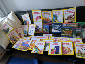 Animals & I Wounder Why Books - Lot of 33
