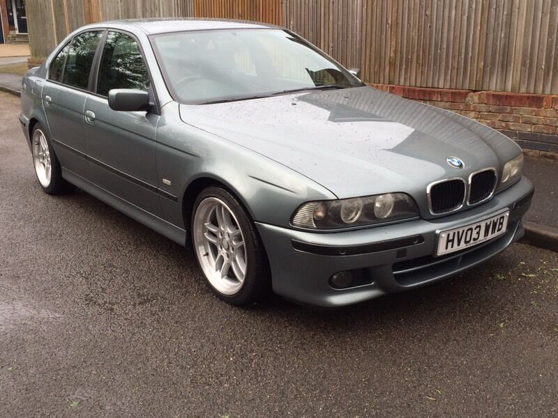 bmw e39 525d sport slate green in high wycombe. Black Bedroom Furniture Sets. Home Design Ideas