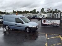 Vauxhall combo 2000 cdti 16v years mot fridge van ideal business van