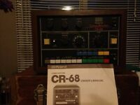 Roland CR68 vintage retro drum machine
