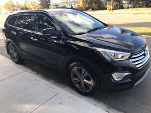 Hyundai Santa Fe XL,2017 ,6 seats ,leather,AWD,48500 kms