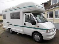 Auto Sleeper Pollensa 4/5 Berth motorhome in outstanding condition, low mileage