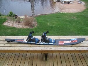 Goode 9434 220 Amp 67in Slalom Ski/Double Large O'Brien Forces!!