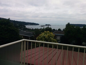 View to die for!  Upper suite in Departure Bay home