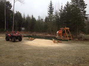 Portable Sawmill for hire