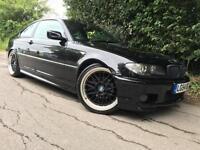 2004/54 BMW 320 2.2 auto Ci M-Sport, Black, FSH, MOT 02/17, Full Leather