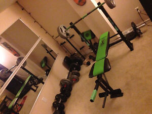 Selling my weights and bench