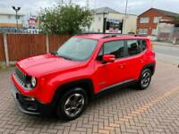 FRENCH FRANCE LHD LEFT HAND DRIVE 2017 JEEP RENEGADE LONGITUDE PETROL AUTO LOW M