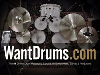 Need a drummer for your recordings?