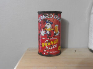 Donald Duck Juice Tin
