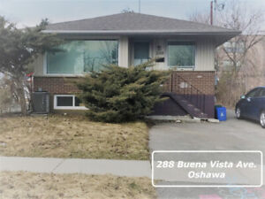2-BDRM LEGAL BASEMENT APARTMENT FOR RENT - OSHAWA