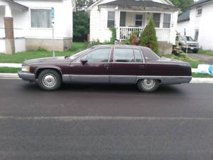 1993 cadillac fleetwood brougham certified