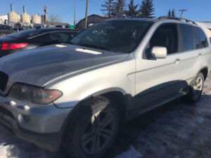 2004 BMW X5 for parts