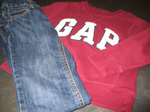 Boy's 4T (Old Navy) Jean and (gap) Sweater