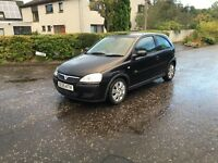 Vauxhall corsa active 12v long mot