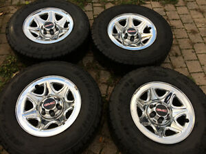 Factory Gmc Sierra rims and tires like new!
