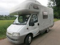 Hymer CAMP C 544K ,4 BERTH COMPACT FAMILY MOTORHOME